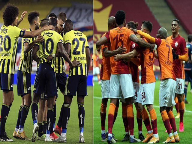 Fenerbahçe-Galatasaray derbisine doğru