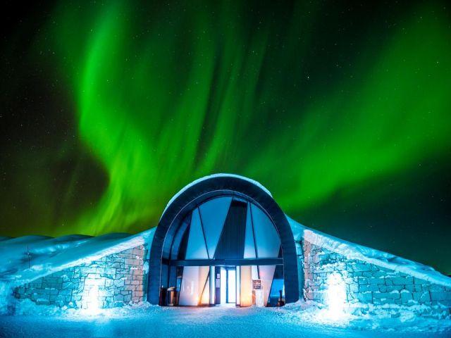 Buzun sanata dönüştüğü oteller