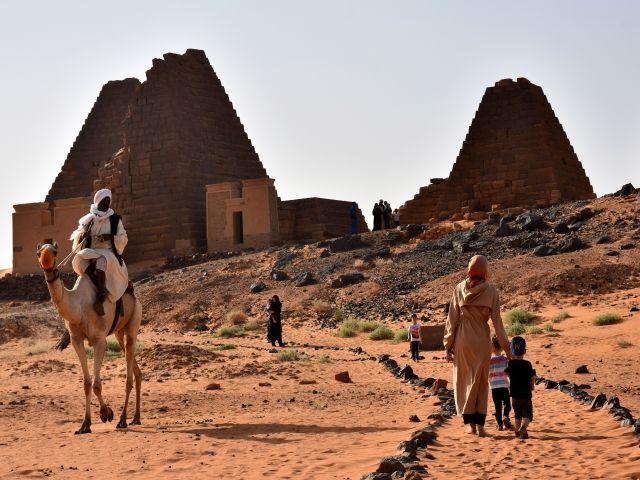 Sudan çölünde saklı hazine