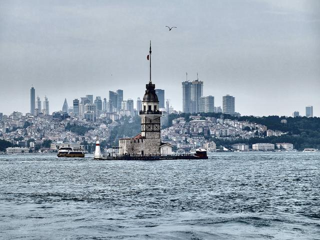 İstanbul'dan deniz manzaraları