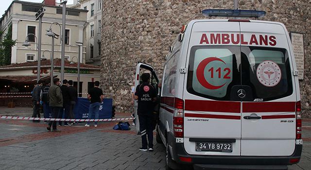Galata Kulesi'nden düşen genç kadın hayatını kaybetti