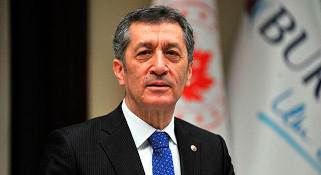 """Milli Eğitim Bakanı Ziya Selçuk'tan """"telafi eğitimi"""" açıklaması"""