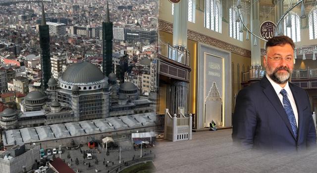 """""""Taksim Camii için harcadığım para iki katına çıktı"""""""