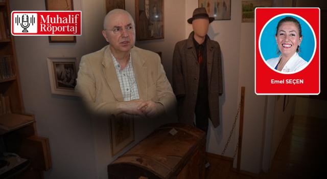 Emel Seçen, Işık Öğütçü ile Orhan Kemal Müze Evi'nde konuştu