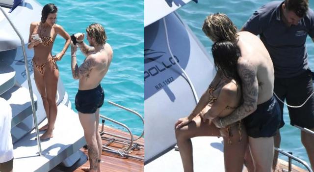 Loris Karius, sevgilisini teknede aldattı