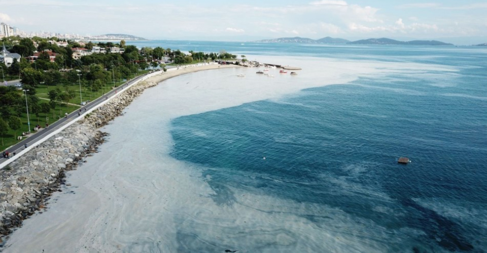 Marmara Denizi'nde 4 bin 202 metreküp müsilaj temizlendi