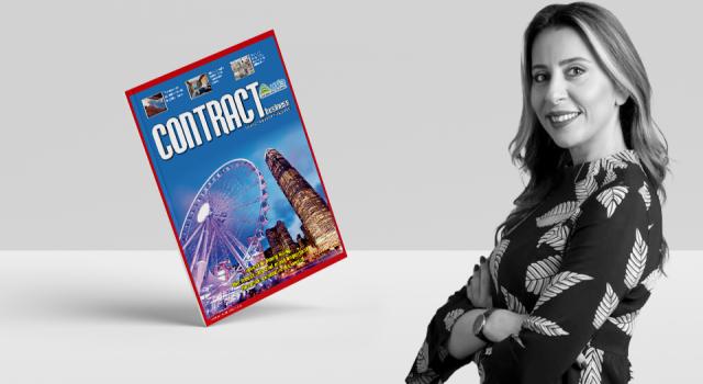 Our author Özlem Algül in the Contract Business Magazine