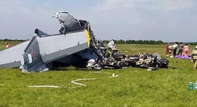 Rusya'da uçak kazasında 4 kişi hayatını kaybetti...