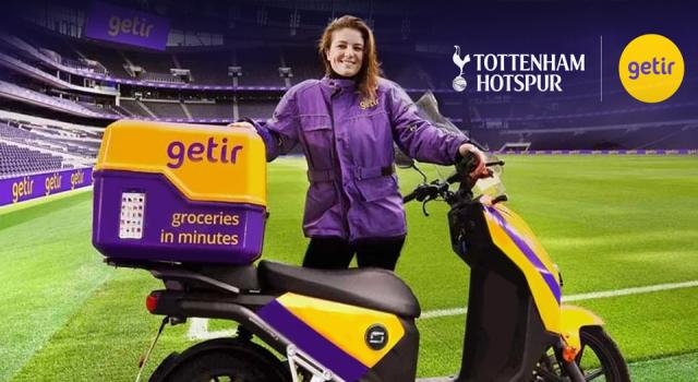 Getir Tottenham Hotspur'un global sponsoru oldu