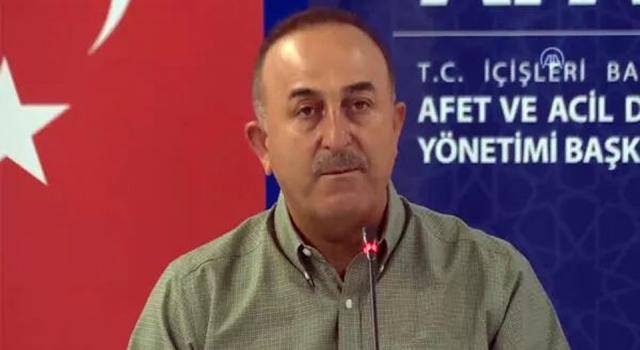 Mevlüt Çavuşoğlu: Bazı ülkelerden teklif geldi, desteğe ihtiyacımız olduğunu söyledik