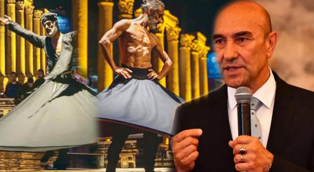 """""""Semazen"""" temalı dans tepkilerine İzmir Belediyesi'nden açıklama"""