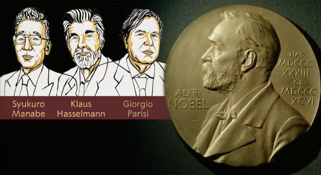 2021 Nobel Fizik Ödülü'nün kazananları açıklandı