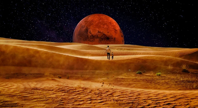 NASA'dan Mars'ta uzaylı yaşamının olabileceğine dair kanıt