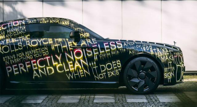Rolls-Royce da elektrikli araç üretimine geçiyor