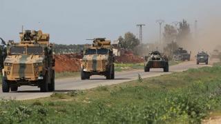 Rus ve Türk askerlerden Suriye'de ortak devriye
