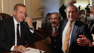 Erdoğan'dan Elmas'a tebrik telefonu
