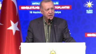 Erdoğan'dan, HDP binasına saldırıyla ilgili ilk açıklama