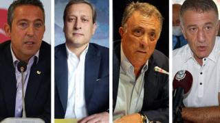 4 büyük kulübün başkanından tarihi buluşma