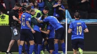 EURO 2020'nin ilk finalisti İtalya