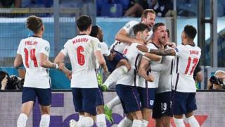 İngiltere son yarı finalist: 4 gollü zafer