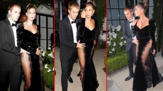 Justin Bieber ve Hailey Baldwin Bieber geleneği bozmadı