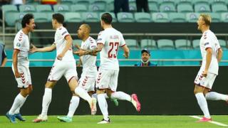 Schick'in golü Çekya'ya yetmedi: Danimarka yarı finalde