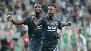 Beşiktaş, Karagümrük engelini Alex Teixeira'nın golüyle geçti