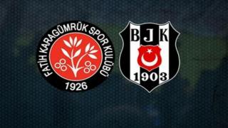 Beşiktaş'ın Karagümrük maçı ilk 11'i açıklandı