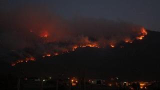 Çine'de ormanlık alanda yeniden yangın çıktı