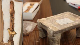 Kazakistan'da erken Demir Çağı'ndan kalma tarihi eserler keşfedildi