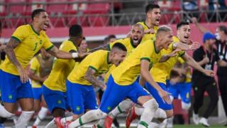 Tokyo 2020'de erkekler futbol şampiyonu Brezilya oldu