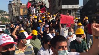 Zonguldak'ta maden işçilerinden ''eşit işe eşit ücret'' eylemi