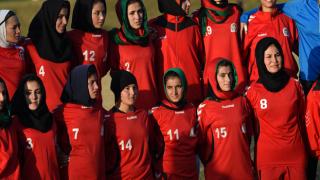 Afgan kadın futbol takımı, ülkeyi terk etti