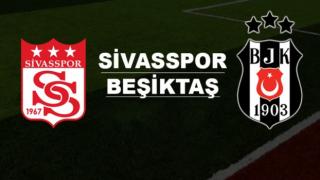 Beşiktaş ile Demir Grup Sivasspor 31. randevuda!