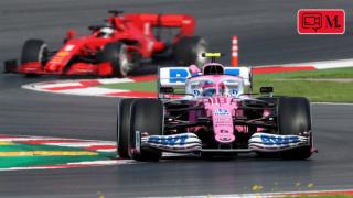 Formula 1 çıkışında izdiham