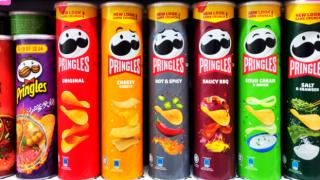 Pringles 20 yılın ardından logosunu değiştiriyor