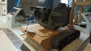 Yeni geliştirilen insansız kara aracının rolu sınır güvenliği