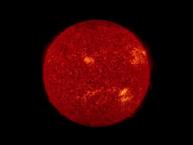 NASA, güneş patlamasını görüntüledi.