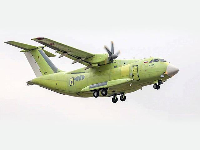 Rusya'da İl-112V tipi askeri nakliye uçağı düştü