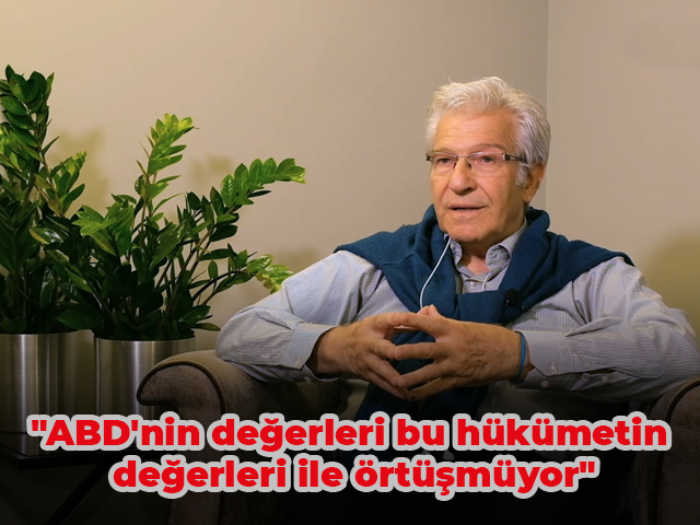 """Prof. Dr. Süha Atatüre """"ABD'nin değerleri bu hükümetin değerleri ile örtüşmüyor"""""""