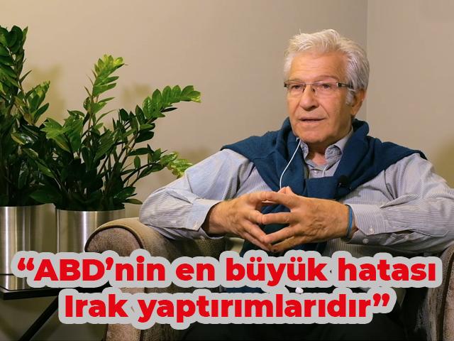 """Prof. Dr. Süha Atatüre: """"ABD'nin en büyük hatası Irak yaptırımlarıdır"""""""